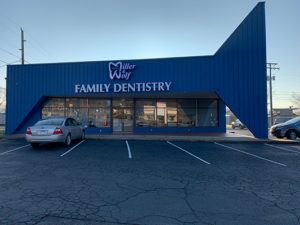 The front of Miller & Wolf Family Dentistry's office