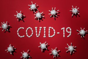 Model of COVID-19 pandemic from emergency dentist.